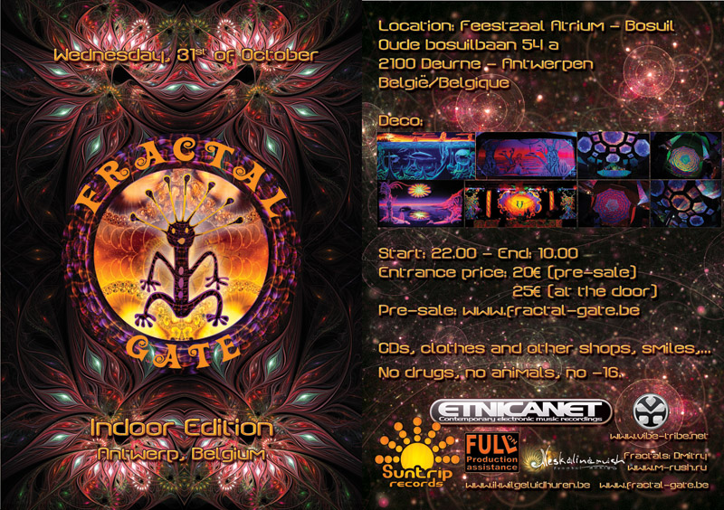 Suntrip presents: Fractal Gate Indoor Edition - Oct 31st 2012